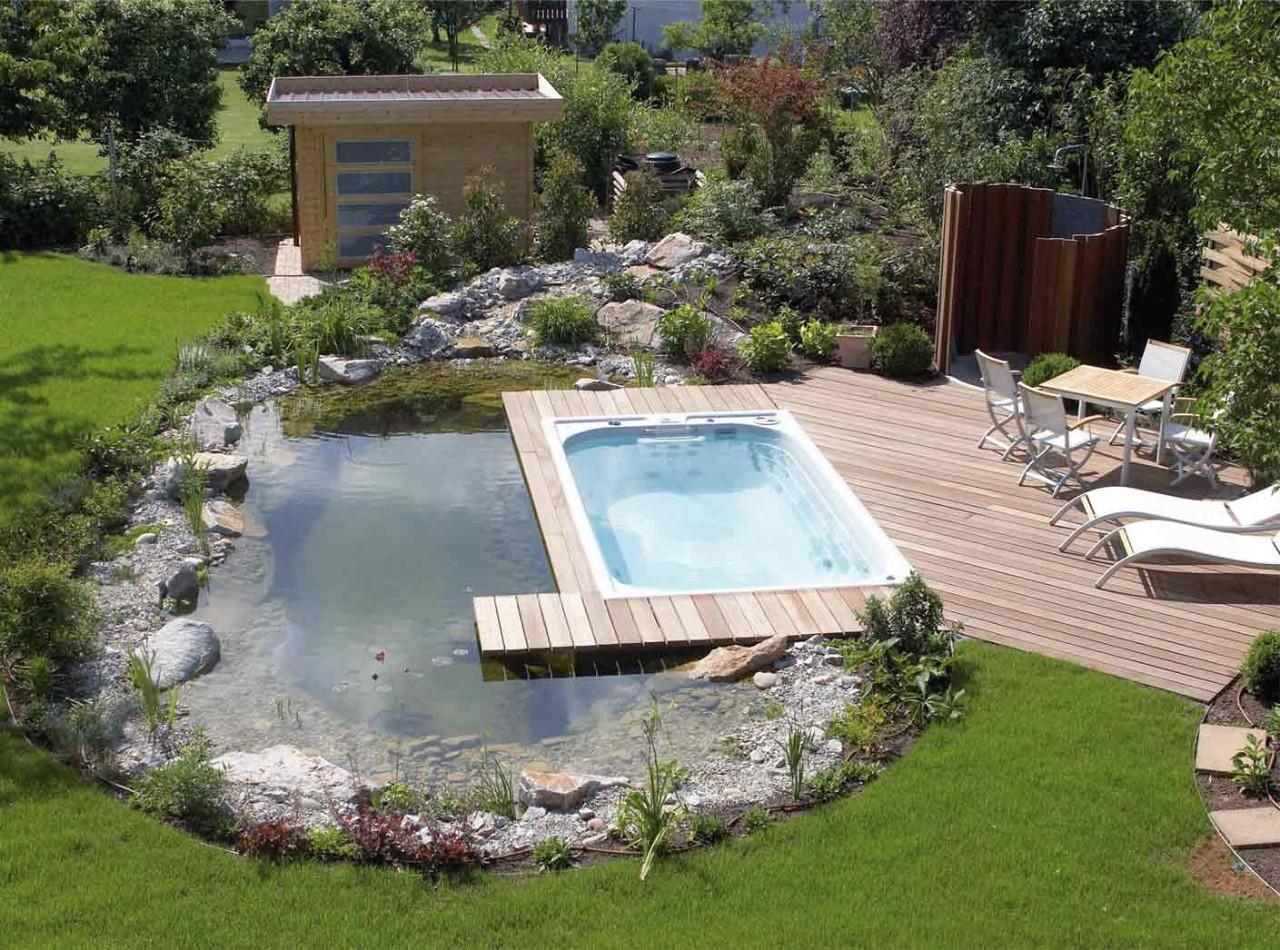 Swim spa m usspa for Imagenes de jacuzzi para exteriores